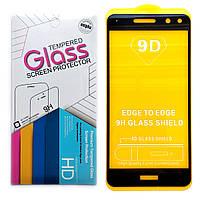 Защитное стекло 9D для Huawei Y5 2017 (Black)
