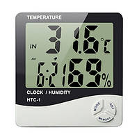 Цифровой термометр-гигрометр HTC -1, комнатный