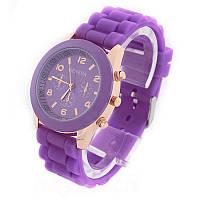 Женские часы GENEVA ЖЕНЕВА фиолетовые