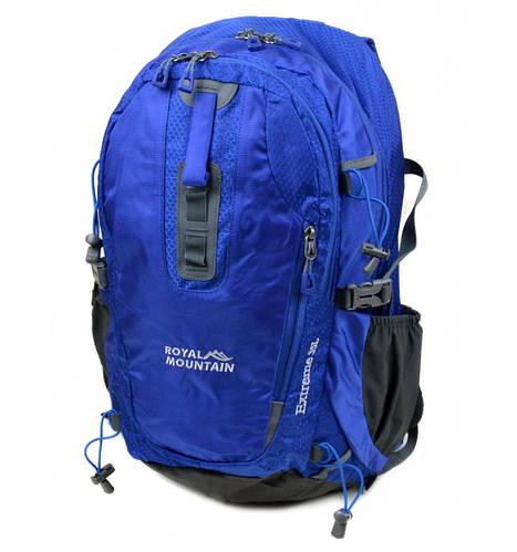 Молодежный туристический рюкзак 35 л.  Royal Mountain 1465 dark-blue синий