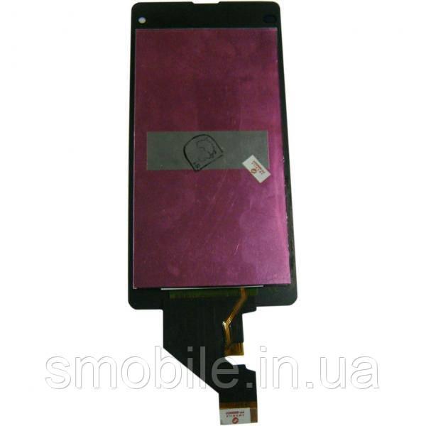 Sony Дисплей Sony D5503 Xperia Z1 Mini с сенсором, черный