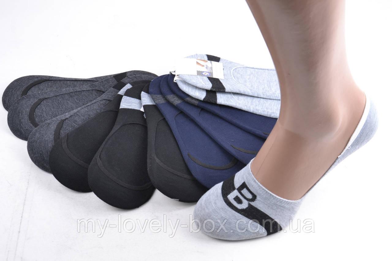 ОПТОМ.Мужские Носки-Следы ХЛОПОК (F567-4) | 12 пар