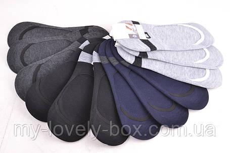 ОПТОМ.Мужские Носки-Следы ХЛОПОК (F567-4) | 12 пар, фото 2