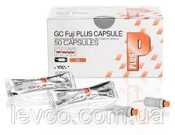 Fuji Plus Фуджі плюс капсули 10 шт склоіномер фіксація GC Японія,Фуджи плюс капс 10 шт-стеклоиономер