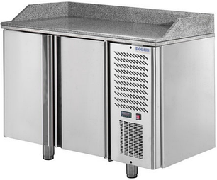 Холодильный стол для пиццы Polair TM2GN pizza-G, фото 2