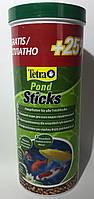 Основной корм для всех прудовых рыб Tetra Pond Sticks 1 л + 25%