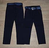 Школьные чёрные брюки  для мальчика оптом на 11-15 лет