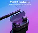 Беспроводные наушники Bluetooth QCY T2 (QS2) Black, фото 3