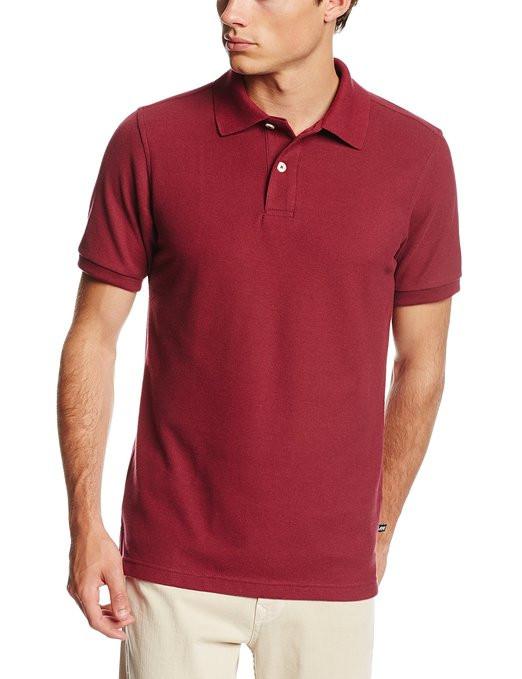 Поло Lee Men's Short-Sleeve Polo Shirt  Burgundy