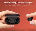 Беспроводные наушники Bluetooth QCY T2 (QS2) Black, фото 5