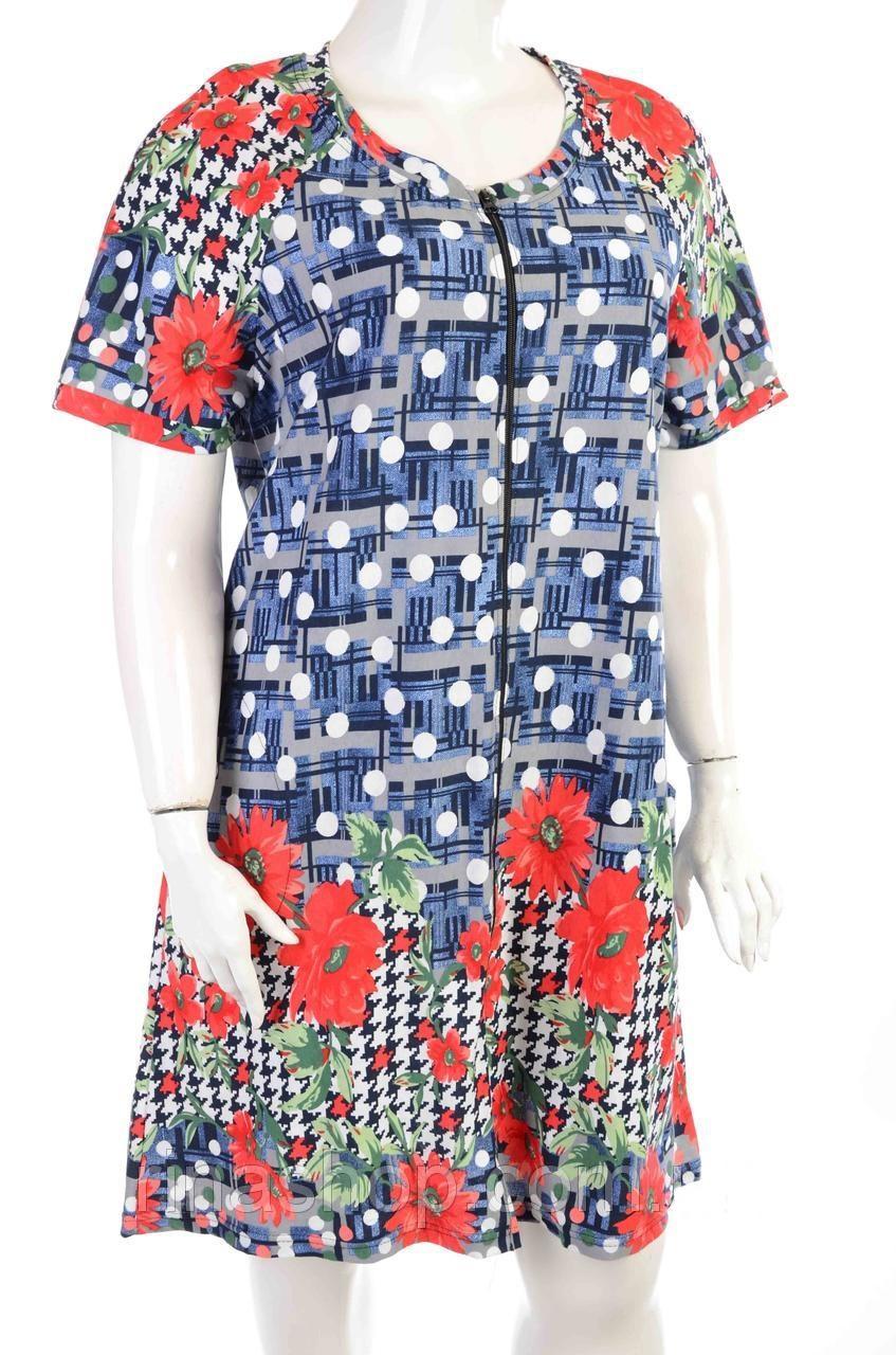 Халат женский трикотажный opt-990156