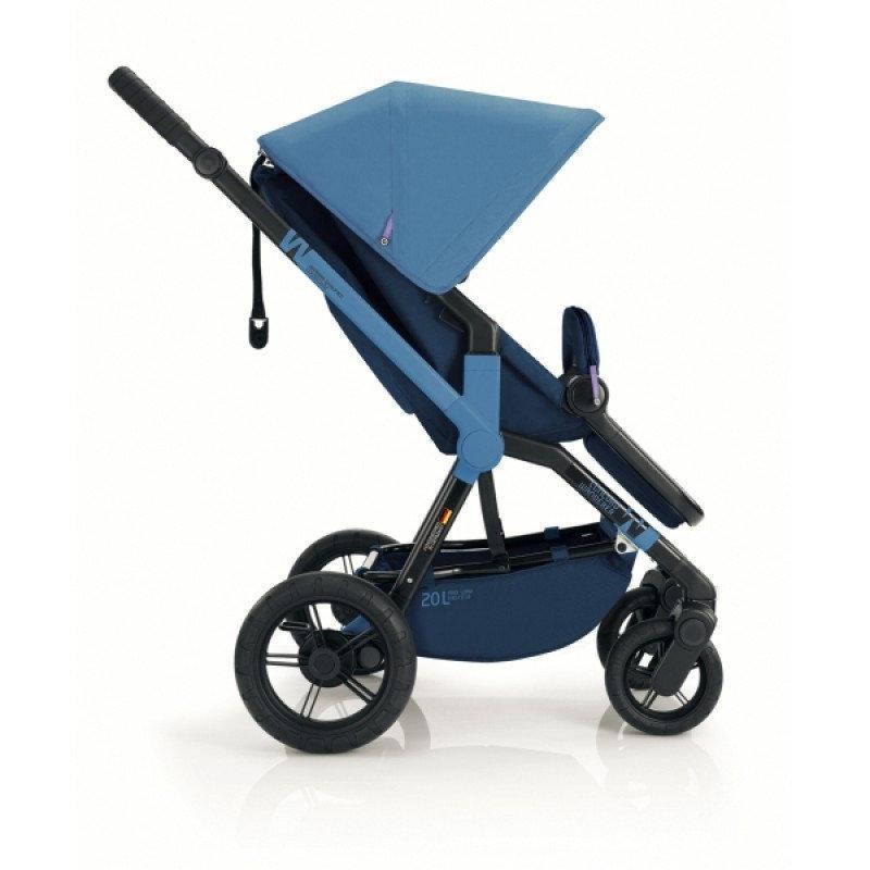 Коляска Concord Wanderer Blue прогулочная синяя
