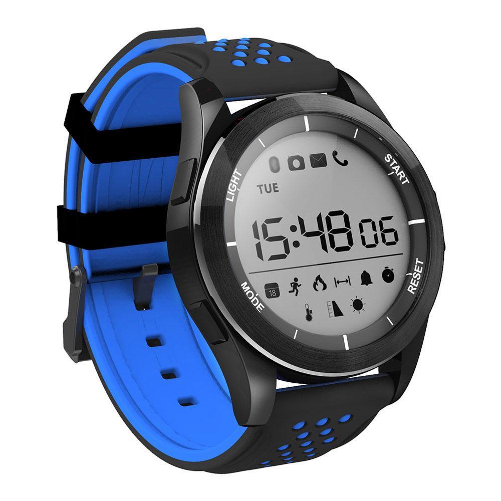 Водонепроницаемые Смарт-часы NO.1 F3 Черно-синие (3sw_001_1)
