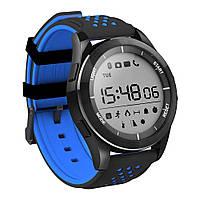 Водонепроницаемые Смарт-часы NO.1 F3 Черно-синие (3sw_001_1), фото 1
