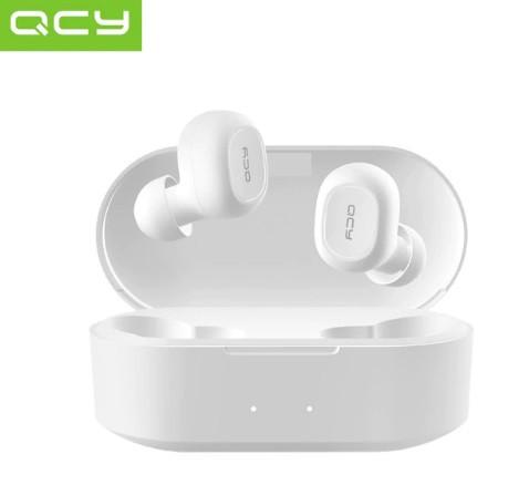 Бездротові навушники Bluetooth QCY T2 (QS2) White