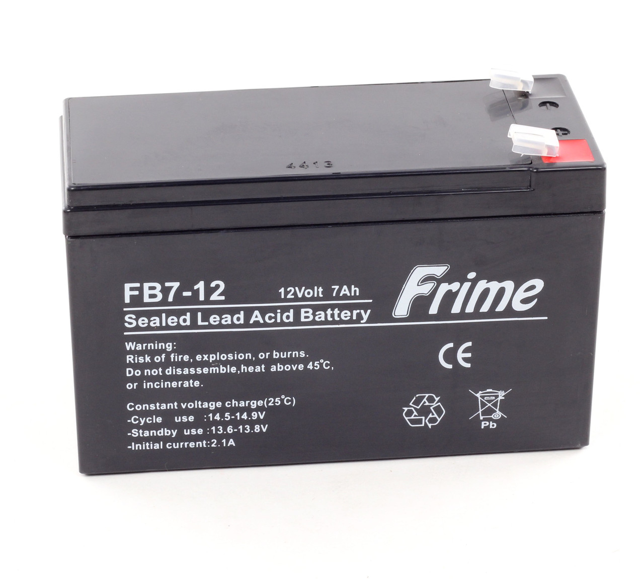 Аккумулятор Frime 12V / 7Ah для детских электромобилей