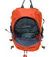 Молодежный туристический рюкзак 35 л. Royal Mountain 1465 orange оранжевый, фото 3