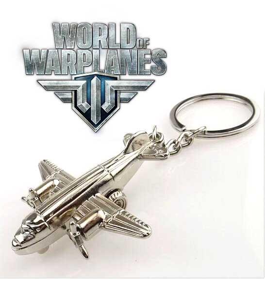 Брелок самолет Мир Военных самолетов World of Warplanes