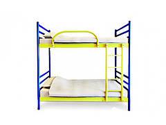 Двухъярусная кровать Флай Дуо 80х190 см. Метакам