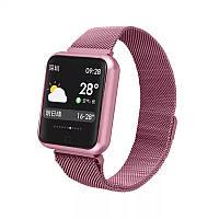 Смарт часы Smart Watch P68 Fitness Розовый (S5457888P68X5F)