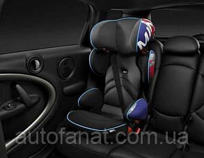 Оригинальное детское автокресло MINI Junior Seat, Group 2/3, Union Jack Print (82222449303)