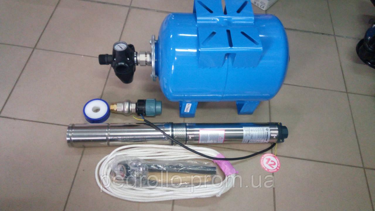 Комплект системы водоснабжения KTD-3MID-24HМ для скважины 5-10 м