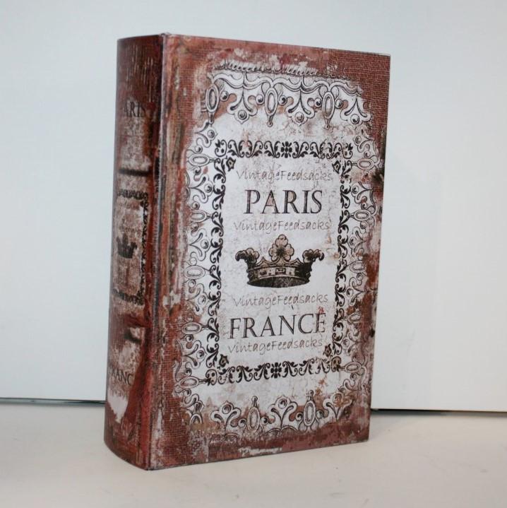 """Книга-сейф """"Paris"""" на ключике"""