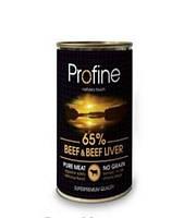 Profine (Профайн) Beef and Liver Консервы для собак с говядиной и печенью 400г