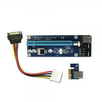 Другой Райзер PCI-E 1X to 16X v.006 (4 pin) для подключения дополнительных видеокарт