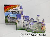 3D пазл «Нойшванштайнский замок»