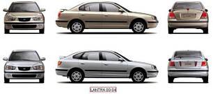 Фары передние для Hyundai Elantra XD '00-06