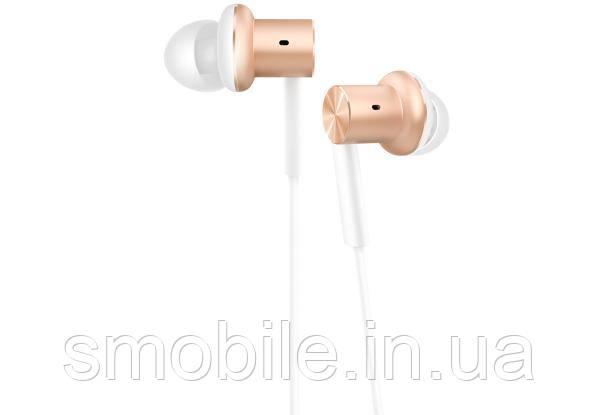 Xiaomi Наушники Xiaomi Mi In-Ear Headphones Pro золотистые (оригинал)