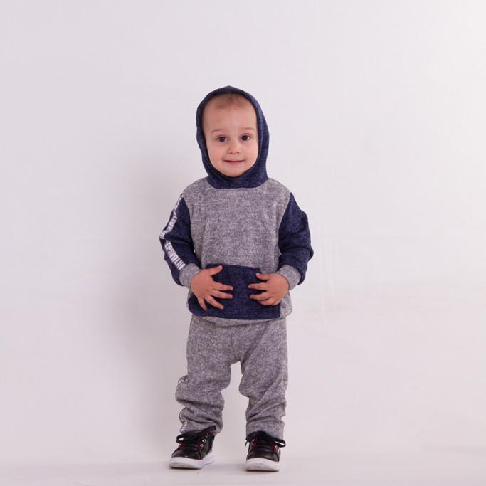 Детский прогулочный костюм из трикотажа для мальчикаСпортивный костюм на мальчика