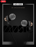XO Наушники XO S20 In-Ear with Remote control and Mic золотистые, фото 1