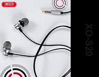 XO Наушники XO S20 In-Ear with Remote control and Mic серебристые, фото 1