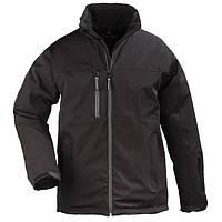 Куртка утепленная дышащая, черная Yang Winter. Размер XL