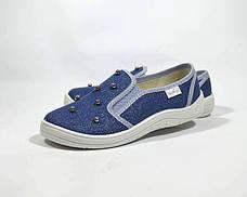 Сліпони WALDI арт.376-757 Віка перлинки, синій, Синий, 30, 19.0, фото 2
