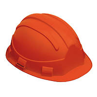 Каска строительная защитная OPAL, оранжевая