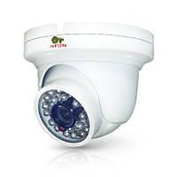 Купольная IP камера с фиксированным фокусом и ИК-подсветкой IPD-1SP-IR SE
