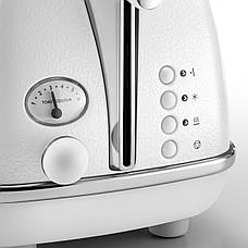 Тостер DeLonghi CTOE 2103 W Icona Elements, фото 2