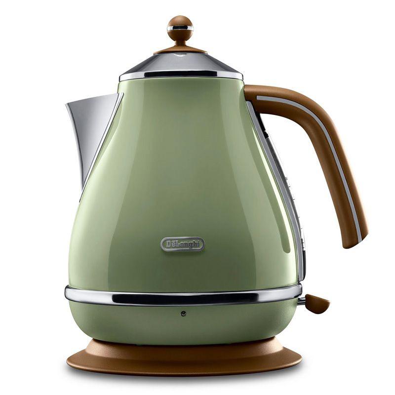 Чайник DeLonghi KBOV 2001 GR Icona Vintage
