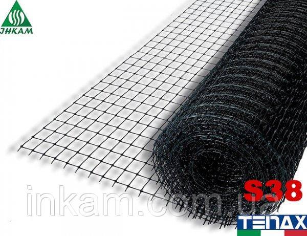 Сітка вольерная пластикова Tenax S38 2х100 м, осередок 12х12