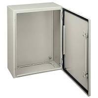 Шкаф металлический навесной 400х300х200 с монтажной платой ip66 Schneider Electric NSYCRN43200P
