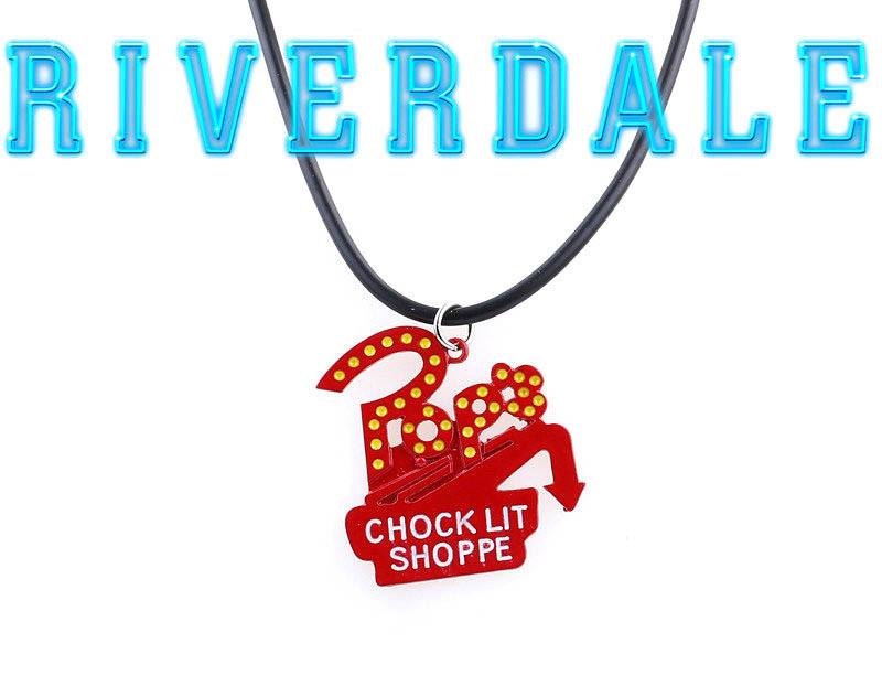 Кулон Ривердейл Riverdale с логотипом закусочной У Попа Pop's Chock lit Choppe