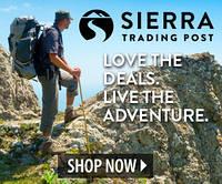 Sierratradingpost - мультибрендовый магазин для активного образа жизни.