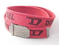 Красный тканевый ремень Diesel, фото 1