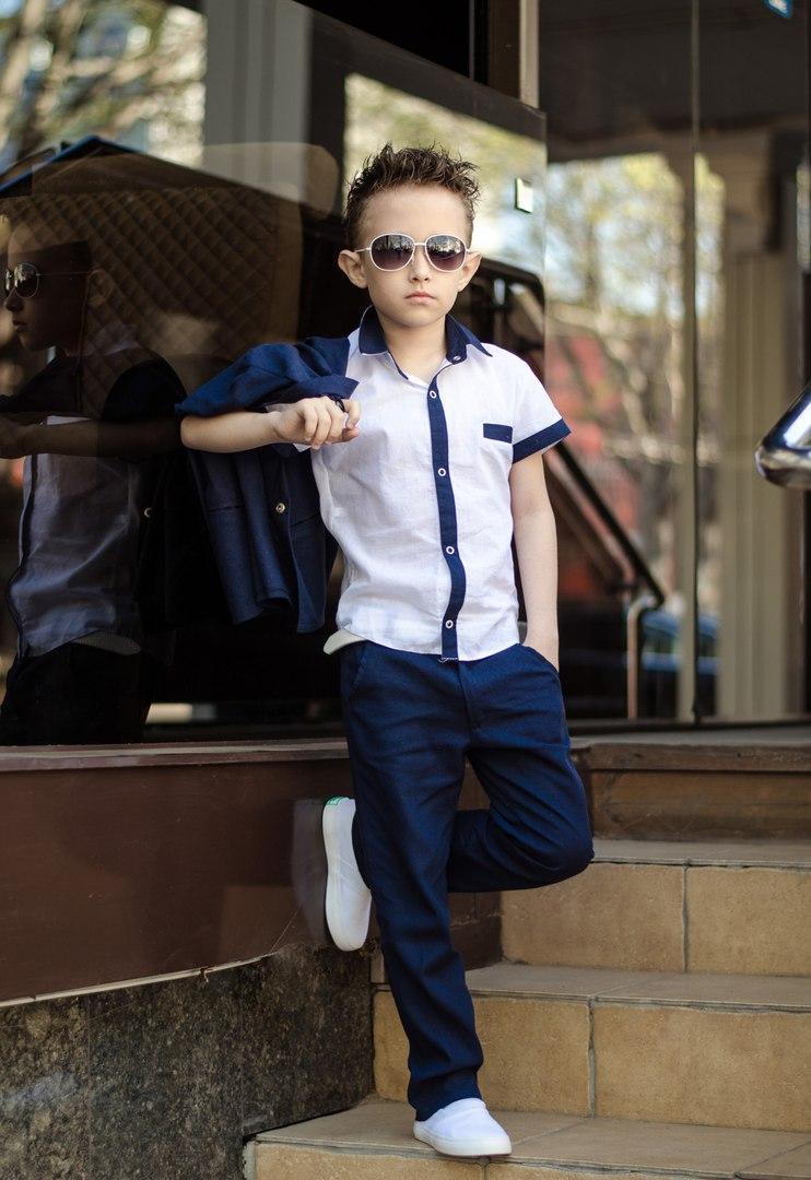 fe80d22dcbb50db Костюм тройка для мальчика классика тройка брюки, пиджак и рубашка - Модный  РАЙ в Одессе