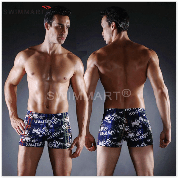 Плавки мужские купальные, трусы-боксеры для бассейна, пляжа (разные цвета)