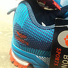 Кроссовки Bonote текстиль сетка синие р.46, фото 5