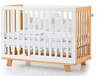 Детская кровать Соня Манхэттен бело-буковый, маятник Верес 1.1.70.32.15, фото 1